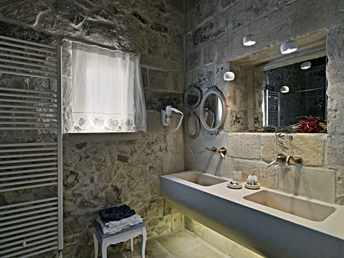Bianco cave arredo bagno bianco cave - Idee bagno muratura ...