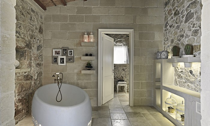 Bagno In Pietra Bianca : Bianco cave home bianco cave
