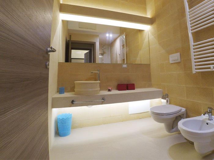 Bagno In Pietra Leccese : Bianco cave arredo bagno bianco cave