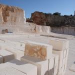 Blocchetti in pietra bianca di Ostuni
