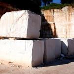 Blocchi in pietra bianca di Ostuni